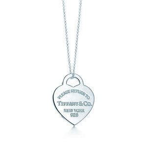Tiffany & Co. heart necklace.